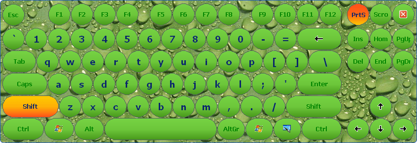 Touch Screen Keyboard - Virtual Keyboard Software for