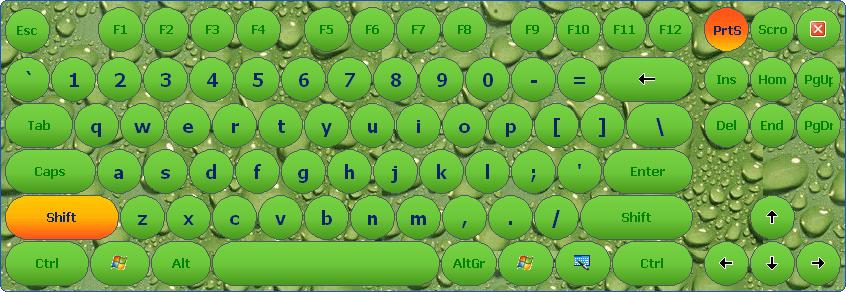Touch Screen Keyboard Virtual Keyboard Software For