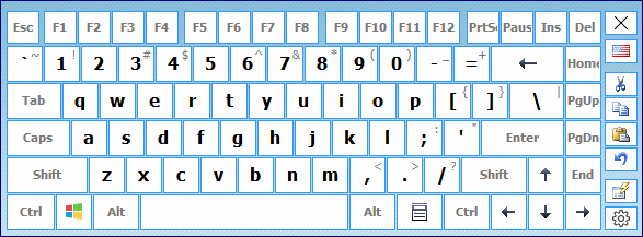 Hot Virtual Keyboard English