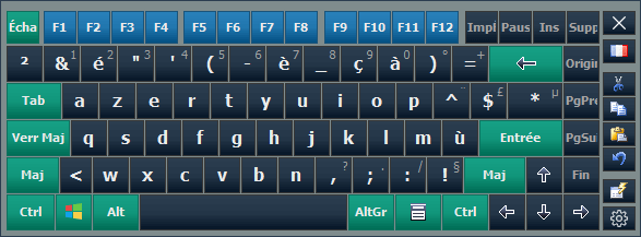 Hot Virtual Keyboard French